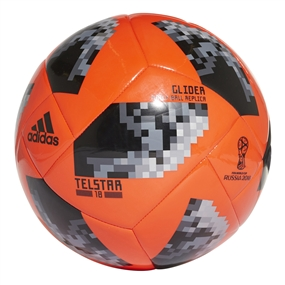 Adidas World Cup 2018 Glider Ball (Solar Red/Black/Silver Metallic)