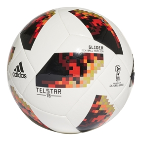 Adidas World Cup 2018 Glider Ball (White/Copper Gold/Gold Metallic)