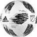 Adidas 2018 NFHS MLS Top Training Soccer Ball (White/Black/Grey)