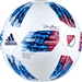 Adidas 2018 MLS Top Glider Soccer Ball (White/Ash Blue/Night Indigo/Power Red)