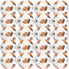 Adidas 2018 MLS Glider Soccer Ball 20 Pack (White/Solar Orange/Bold Orange/Bold Onix)