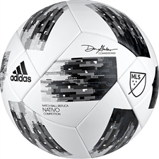 Adidas 2018 NFHS MLS Competition Soccer Ball (White/Black/Grey)