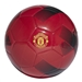 Adidas Manchester United Soccer Ball (Real Red/Black/Power Red)