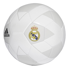 Adidas Real Madrid Soccer Ball (Cream White/Grey One/Black)