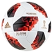 Adidas Telstar 18 World Cup Top Replique Ball - Knockout Rounds (White/Solar Red/Black)