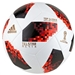 Adidas Telstar 18 World Cup Top Glider Ball - Knockout Rounds (White/Solar Red/Black)