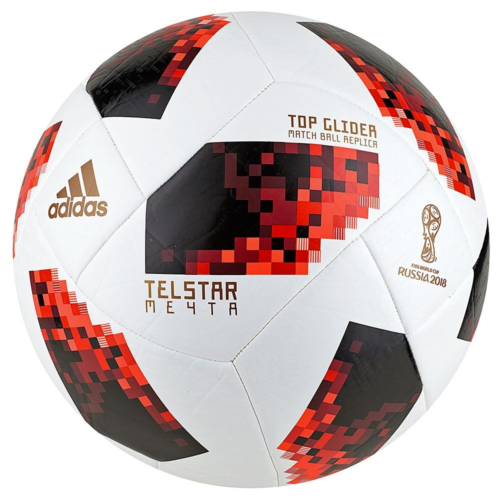 324ee4378b2 Adidas Telstar 18 World Cup Top Glider Ball - Knockout Rounds (White ...