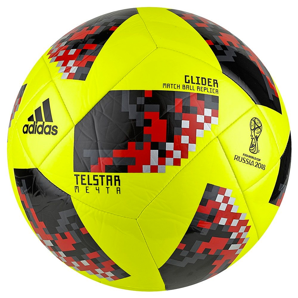 Adidas World Cup 2018 Glider Ball - Knockout Rounds (Solar Yellow ... f02307343b5a5