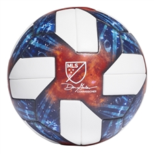 Adidas 2019 MLS Official Match Ball (White/Silver Metallic)