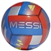 Adidas Messi Capitano Soccer Ball (Football Blue/Active Red/Silver Metallic)