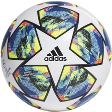 Adidas Finale Official Match Ball (White/Black/Hi-Res Red/Silver Metallic)