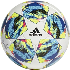 Adidas Finale Competition Soccer Ball (White/Black/Hi-Res Red/Silver Metallic)