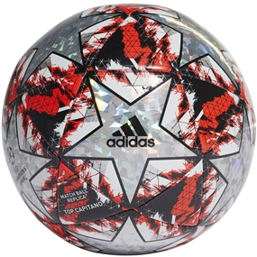 Adidas Finale Top Capitano Soccer Ball (Multicolor/Hi-Res Red/Black/Silver Metallic)