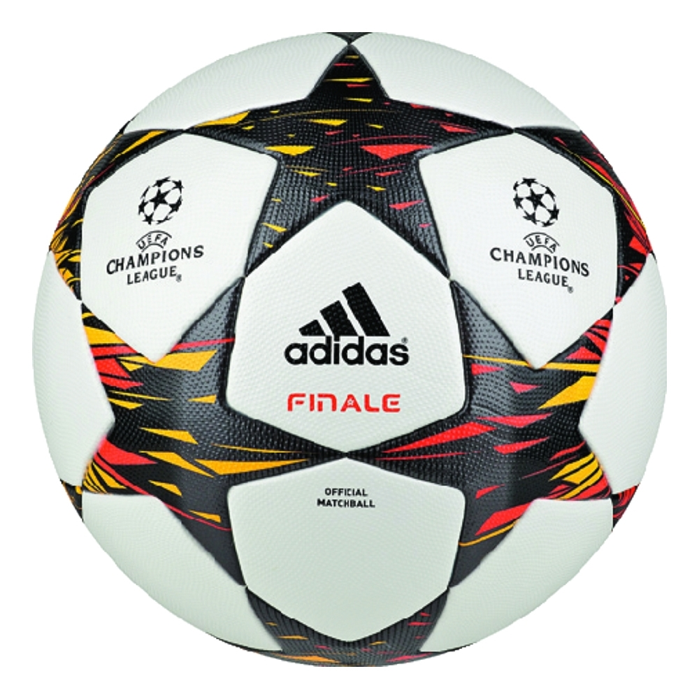 Adidas Finale 14 Official Champions League Match Soccer Ball (White Solar  Red Solar 6db7292e70709