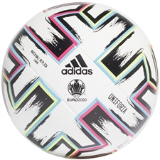 Adidas Uniforia League Ball (White/Black/Signal Green/Bright Cyan)