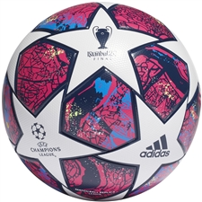 Adidas Finale Istanbul League Soccer Ball (White/Pantone/Glory Blue/Dark Blue)