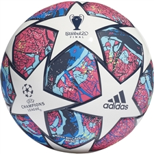 Adidas Finale Istanbul Mini Soccer Ball (White/Pantone/Glory Blue/Dark Blue)