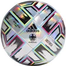Adidas Uniforia Training Ball (Silver Metallic/Signal Green/Bright Cyan/Shock Pink)