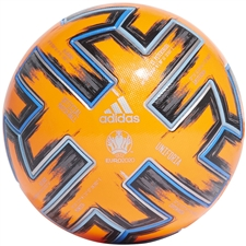 Adidas Winter Uniforia Pro Euro 2020 Official Match Ball (Solar Orange/Black/Glory Blue)