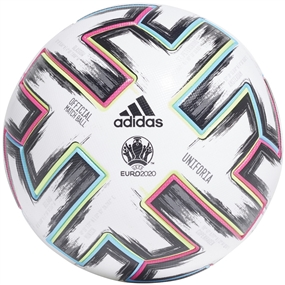 Adidas Uniforia Pro Euro 2020 Official Match Ball (White/Black/Signal Green/Bright Cyan)