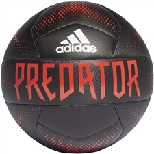 Adidas Predator Training Soccer Ball (Black/Active Red/White)