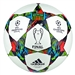 Adidas Finale Berlin 2015 Capitano Soccer Ball (White/Solar Blue/Flash Green)