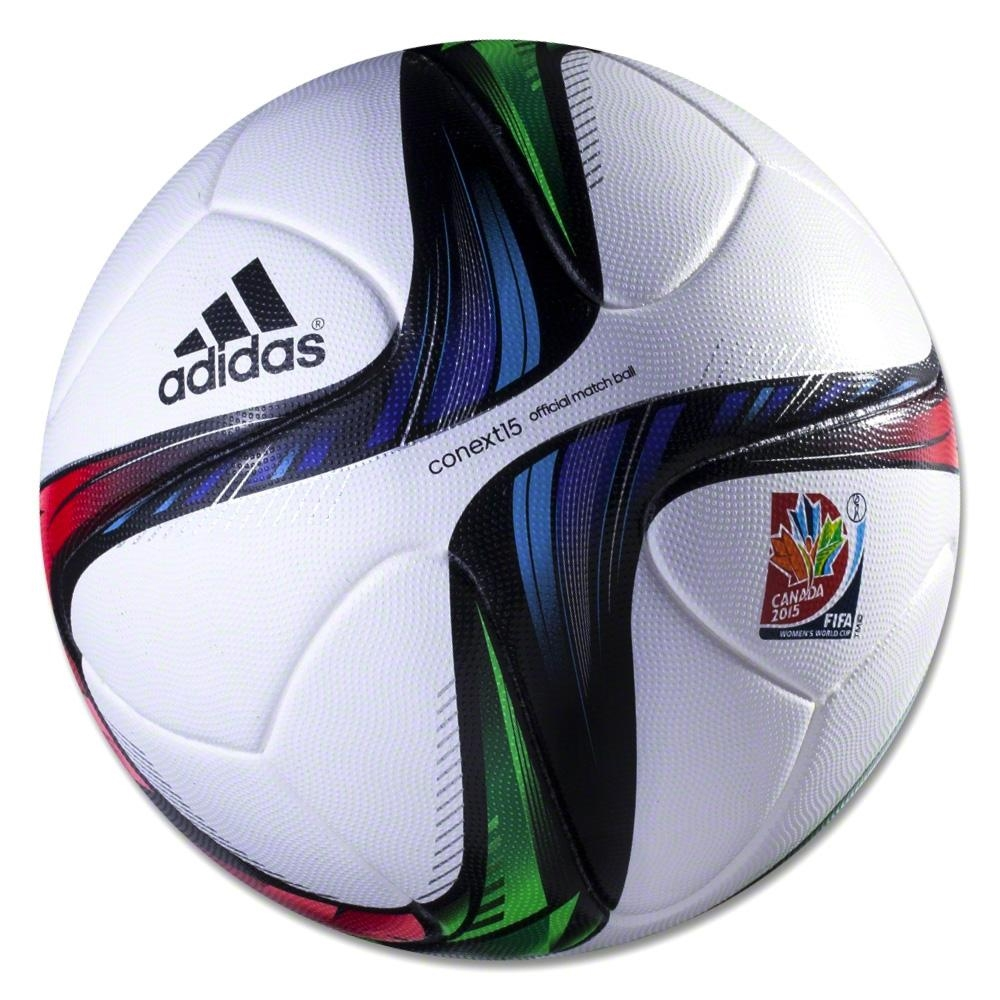 159.99 Add to Cart for Price - Adidas Conext15 WWC 2015 Official Match Soccer  Ball (White Night Flash Flash Green)  f5819050f