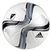Adidas MLS 2015 Nativo Top Training Soccer Ball (White/Black/Silver | M36943 | FREE SHIPPING