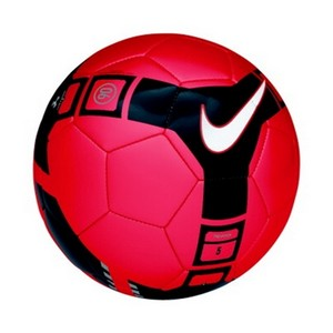 13 49 Nike T90 Pitch Soccer Ball Red Black Silver