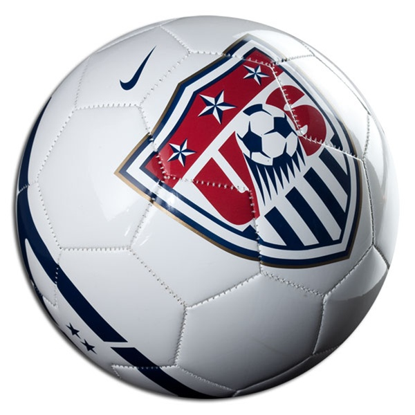 17.99 - Nike USA Supporter Soccer Ball (White Navy Red ... b60e2d34a