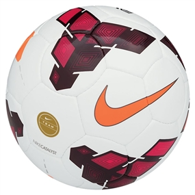 Nike Catalyst Soccer Ball (White/Red/Total Orange)