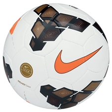 Nike Premier Team Soccer Ball (White/Gold/Total Orange)