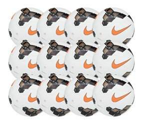 Nike Premier Team Soccer Ball 12 Pack (White/Gold/Total Orange)