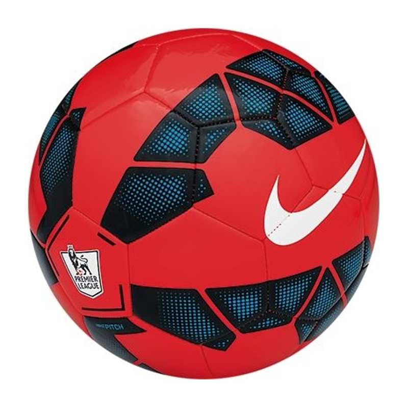Nike Pitch EPL Soccer Ball (Red Black White)  05127df35321