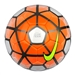 Nike Club Team Soccer Ball (White/Total Orange/Black/Volt)