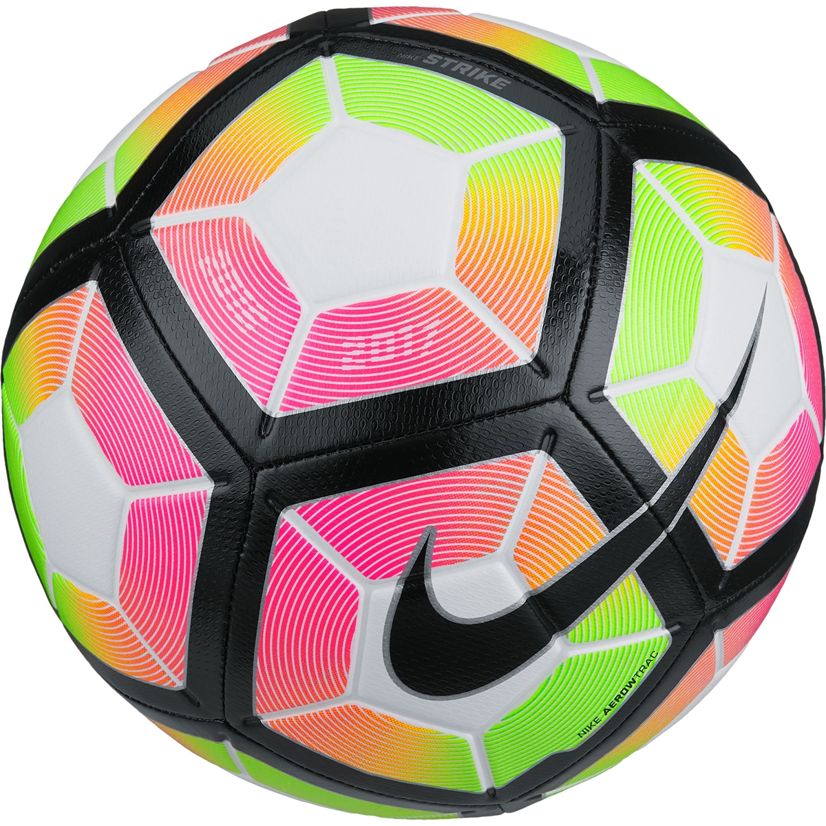 Nike Strike Soccer Ball (White/Pink Blast/Black)| Nike ...