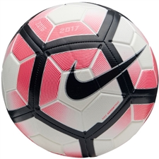 Nike Strike Soccer Ball (White/Racer Pink/Black)