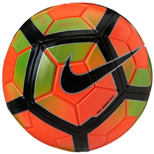 Nike Strike Soccer Ball (Hyper Orange/Electric Green/Black)
