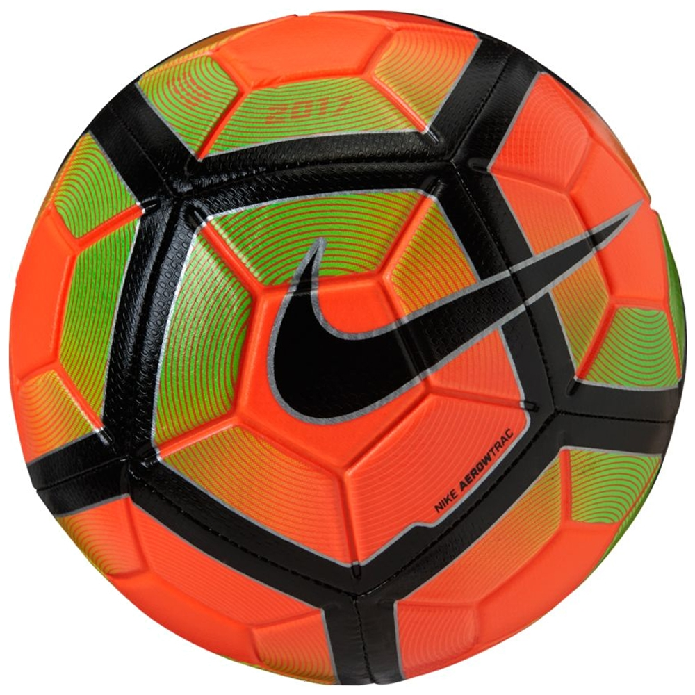 94121a7d6a6 Nike Strike Soccer Ball (Hyper Orange/Electric Green/Black) | Nike ...