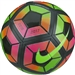 Nike Strike Premium Soccer Ball (Metallic Black/Total Crimson/Volt)