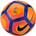 Nike Pitch LFP Soccer Ball (Atomic Mango/Crimson/Blue/Black)