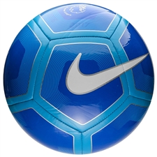Nike Pitch EPL Soccer Ball (Royal/Cyan/White)