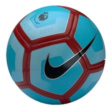 Nike Pitch EPL Soccer Ball (Polarized Blue/White/Black)