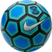 Nike FootballX Strike Soccer Ball (Photo Blue/Electric Green/Silver)