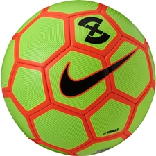 Nike FootballX Strike Soccer Ball (Volt/Electric Green/Hyper Orange/Black)