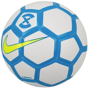 Nike Menor X Futsal Ball (White/Blue Hero/Volt)