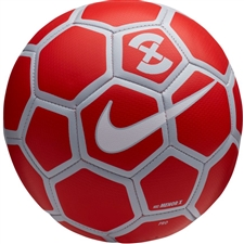 Nike Menor X Futsal Ball (Bright Crimson/Pure Platinum/White)