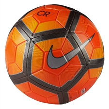 Nike CR7 Prestige Soccer Ball (Orange/Silver)