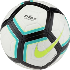 Nike Strike Team 350G Soccer Ball (White/Clear Jade/Black/Volt)