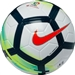Nike La Liga Ordem V Soccer Ball (White/Turquoise/Seaweed/Total Orange) | SC3131-100 |